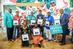 RISE Award Miami Dolphins